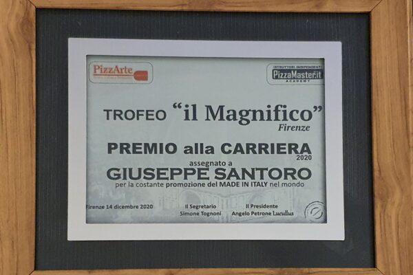 """Trofeo """"il Magnifico"""", a Giuseppe Santoro il premio alla carriera"""