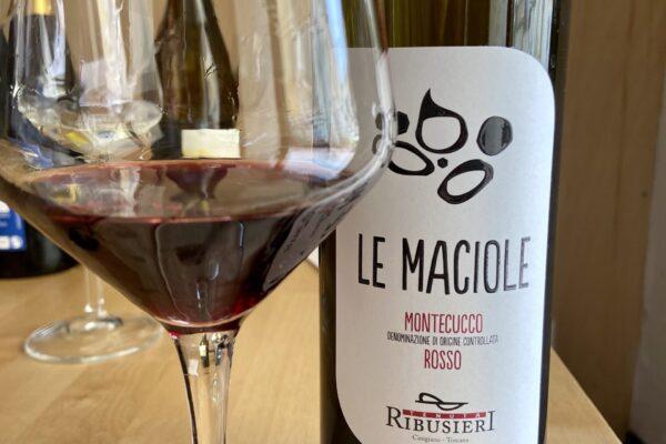 Le Maciole, Montecucco Doc. Un rosso per piatti siciliani