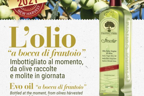 Frescolio, the first milling of the new olive oil vintage